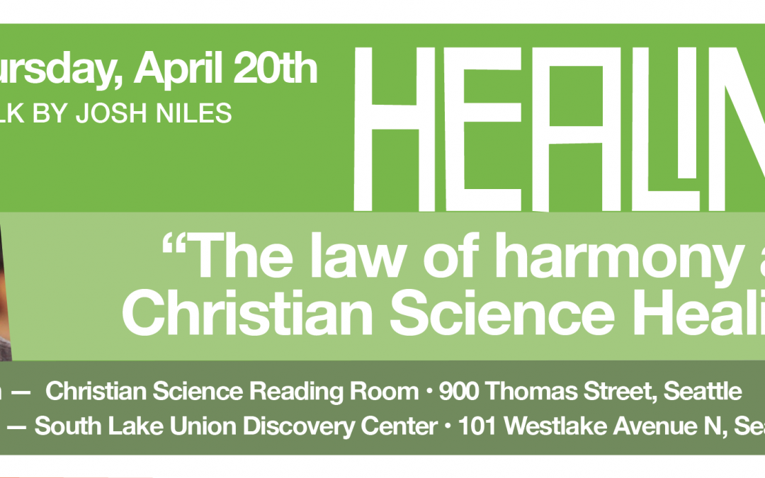 The law of harmony and Christian Science healing